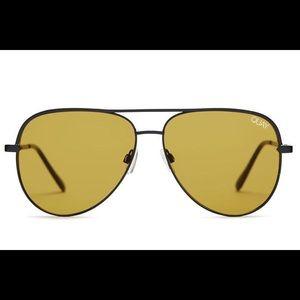 Quay x Desi Perkins olive Sahara sunglasses